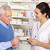 amerikaanse · apotheker · senior · vrouw · apotheek · gezondheid - stockfoto © monkey_business