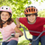 boy and girl riding bikes stock photo © monkey_business