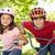 dos · amigos · bicicletas · aire · libre · sonriendo · feliz - foto stock © monkey_business