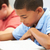 pupils studying at desks in classroom stock photo © monkey_business