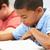 escola · primária · sala · de · aula · masculino · crianças · criança · lápis - foto stock © monkey_business