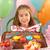 jong · meisje · verjaardagstaart · partij · verjaardag · vruchten · cake - stockfoto © monkey_business