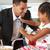 отец · завтрак · детей · работу · девушки · человека - Сток-фото © monkey_business