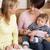 moeder · pasgeboren · baby · praten · gezondheid · bezoeker - stockfoto © monkey_business