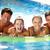 çift · egzersiz · yüzme · havuzu · sualtı · atış - stok fotoğraf © monkey_business