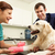 male veterinary surgeon treating dog in surgery stock photo © monkey_business