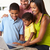 aile · dizüstü · bilgisayar · kullanıyorsanız · mutfak · birlikte · kadın · çocuklar - stok fotoğraf © monkey_business