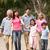 chinesisch · Familienbild · Familie · entspannenden · Park · Frau - stock foto © monkey_business