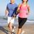 mutlu · çift · egzersiz · deniz · plaj · uygunluk - stok fotoğraf © monkey_business