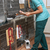 ветеринарный · медсестры · собака · клетке · женщину · врач - Сток-фото © monkey_business
