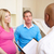 couple meeting with obstetrician in clinic stock photo © monkey_business