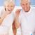senior couple brushing teeth stock photo © monkey_business