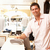 mannelijke · verkoop · assistent · kassa · kleding · store - stockfoto © monkey_business