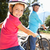 little girl on country bike ride with grandma stock photo © monkey_business