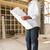 mimar · planları · yeni · ev · ev · çalışma · mimari - stok fotoğraf © monkey_business