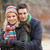 пару · зима · ходьбы · морозный · пейзаж · женщину - Сток-фото © monkey_business