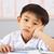 retrato · masculino · trabalhando · secretária · chinês · escolas - foto stock © monkey_business