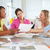 group of women meeting in creative office stock photo © monkey_business