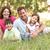 familia · sesión · largo · hierba · parque · mujer - foto stock © monkey_business