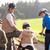 молодые · родителей · детей · велосипедах · парка · мальчика - Сток-фото © monkey_business