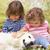 счастливым · собака · области · цветы · работает · луговой - Сток-фото © monkey_business