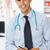 médico · do · sexo · masculino · escrita · prescrição · brilhante · quadro · família - foto stock © monkey_business