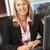 женщины · агент · по · продаже · недвижимости · рабочих · столе · женщину · служба - Сток-фото © monkey_business