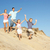 família · correndo · praia · sorrindo · homem · verao - foto stock © monkey_business