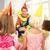 clown · kinderen · partij · gelukkig · vrienden - stockfoto © monkey_business