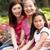 ázsiai · három · generáció · családi · portré · kínai · család - stock fotó © monkey_business