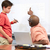 мужчины · студент · Дать · ответ · компьютер - Сток-фото © monkey_business