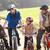 молодые · семьи · создают · велосипедах · парка · детей - Сток-фото © monkey_business