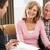 couple · de · personnes · âgées · conseiller · financier · maison · femme · heureux · couple - photo stock © monkey_business