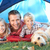 young father poses with children in tent stock photo © monkey_business