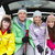 teenage family sitting in boot of car with skis stock photo © monkey_business