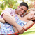 casal · riso · adulto · homem · feliz · diversão - foto stock © monkey_business