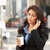 businesswoman outside office on mobile phone stock photo © monkey_business