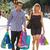 couple · centre-ville · Shopping · coloré · verre - photo stock © monkey_business