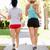due · femminile · runners · gara · insieme - foto d'archivio © monkey_business