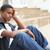 depresji · smutne · chłopca · kolor · osoby - zdjęcia stock © monkey_business