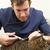 masculina · veterinario · cirujano · examinar · gato · cirugía - foto stock © monkey_business
