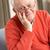старший · человека · расслабляющая · кресло · очки · пожилого - Сток-фото © monkey_business