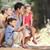 familie · land · lopen · vrouw · kinderen · man - stockfoto © monkey_business