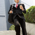 chinese businessman rushing down steps carrying bag and takeaway stock photo © monkey_business
