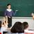 professor · em · pé · lousa · chinês · escolas · classe - foto stock © monkey_business