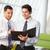 dos · empresarios · informal · reunión · moderna · oficina - foto stock © monkey_business