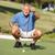 senior · masculino · jogador · de · golfe · campo · de · golfe · para · cima · verde - foto stock © monkey_business