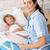 pielęgniarki · dziecko · pacjenta · wypadku · awaryjne · dziewczyna - zdjęcia stock © monkey_business