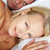 mid age couple in bed woman awake stock photo © monkey_business