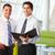 empresarios · informal · reunión · moderna · oficina · negocios - foto stock © monkey_business